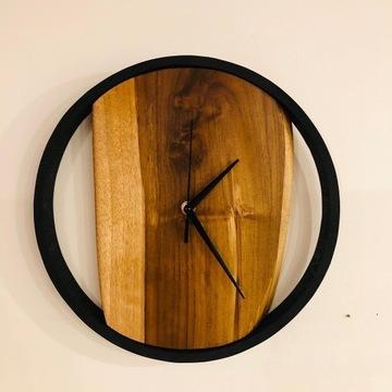 Drewniany zegar (handmade)