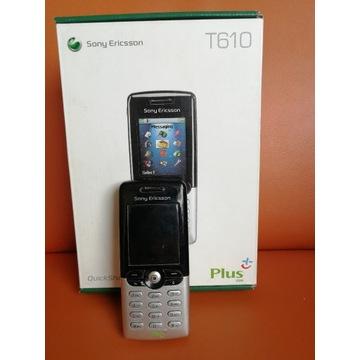 Sony Ericsson T610 z ładowarką