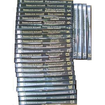 SHERLOCK HOLMES cała kolekcja 27 DVD /7 nowych/