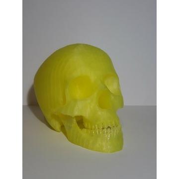 Czaszka Halloween dekoracja druk 3d