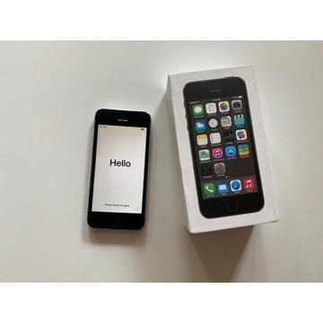 iPhone 5S space grey 16GB, stan bardzo dobry