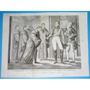 1831 ORYGINAŁ WARSZAWA UNIWERSYTET edykt carski