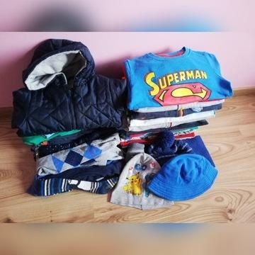 Mega PAKA_ubranka dla chłopca rozm. 86-92