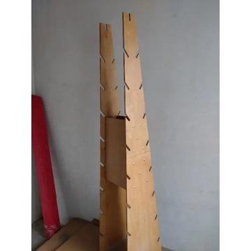 Stojak drewniany - ze sklejki, bardzo wytrzymaly