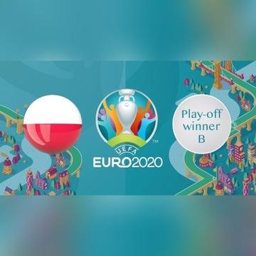 Bilety EURO 2020 mecz POLSKA - PLAY-OFF w Dublinie