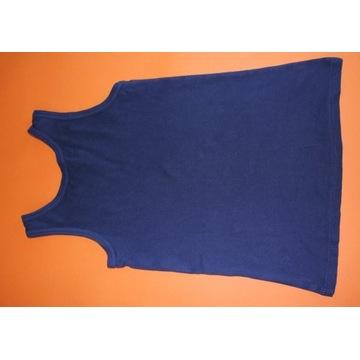 146 152 top dziewczęcy granatowy koszulka bokserka