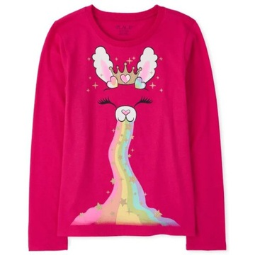 Childrens Place bluzeczka Rainbow Bunny 7-8lat