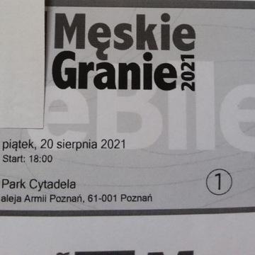 Bilet Męskie Granie, 20.08 Poznań (piątek)
