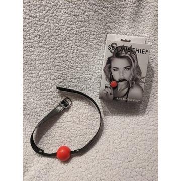 knebel Solid Red Ball Gag Sex & Mischief