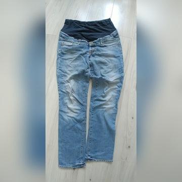 Spodnie ciążowe jeans rozm. 38 2 pary