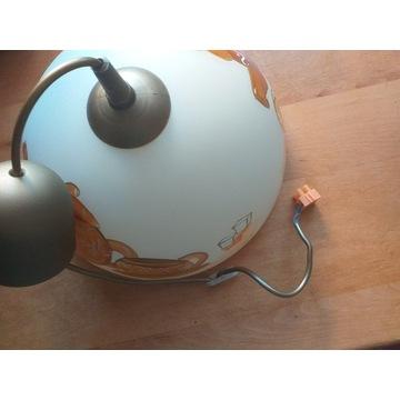 Lampa wisząca kuchenna szklana