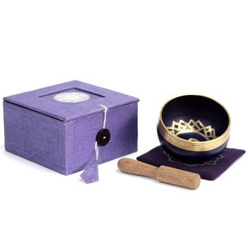 Misatybetańska dźwiękowa czakra korony na prezent