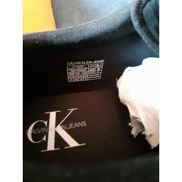 Trampki Calvin Klein Jeans - czarne Rozmiar - 45,