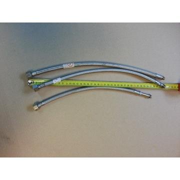 wężyki do baterii 3/8 - M8 35-40 cm. 3 sztuki