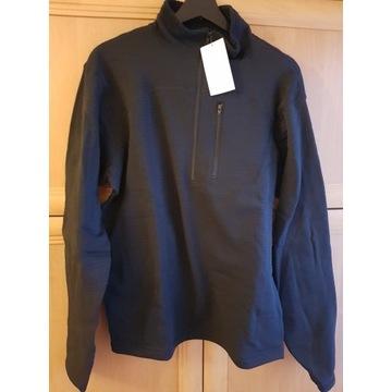 Sweter ocieplacz czarny  M