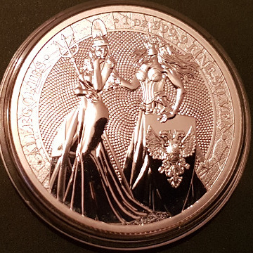 GERMANIA 2019-1OZ. 999,9 AG.