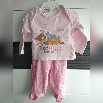 Piżamka Disney Bambi rozm 3-6 m-cy, 68 cm