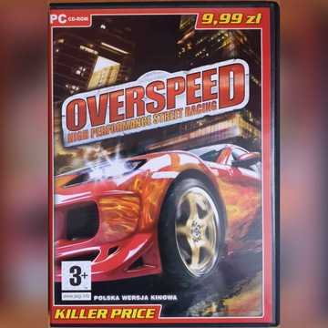 Gra PC Wyścigi Overspeed