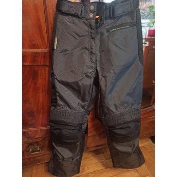 Spodnie na motor 3M Scotchlite r. S super stan