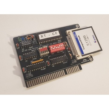 XT-CF 8bit, dysk twardy do 8bit komputerów XT512MB