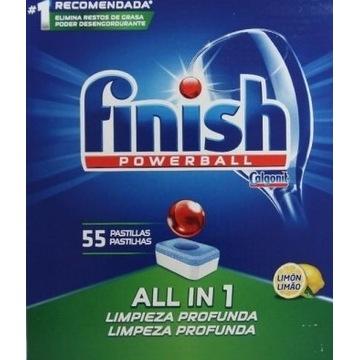 Tabletki do zmywarki Finish 3w1