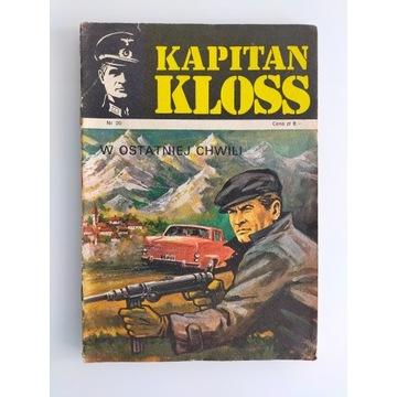 Kapitan Kloss W ostatniej chwili wydanie pierwsze