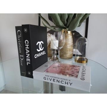 Pudełko - fałszywa książka - Chanel Dior Givenchy