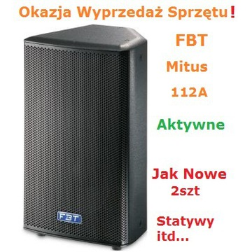 FBT Mitus 112A Kolumna Aktywna Okazja! J Nowe!