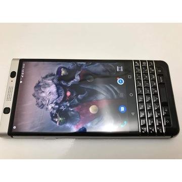 Blackberry Keyone silver 32gb full oryg zestaw.