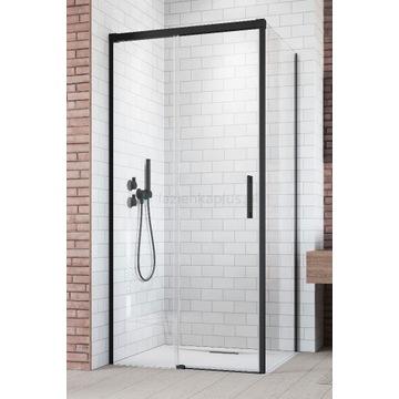 RADAWAY IDEA BLACK KDJ ścianka prysznicowa 90cm bo
