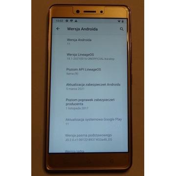 K6 Note K53a48 - instrukcja wgrania androida 11