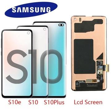 Nowy Wyświetlacz LCD Samsung S8 S9 S10 S20 Note