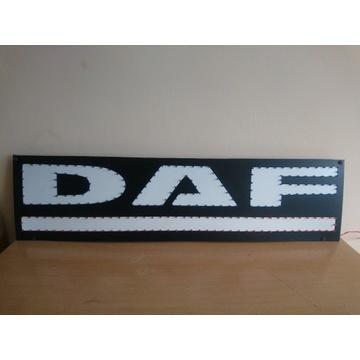 Logo led Daf poświetlane