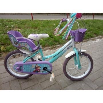 Włoski Rower dzieciecy 16 Elza Frozen