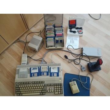 Commodore Amiga 500 cały zestaw
