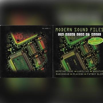 Modern Sound Files - Depeche Mode, synth pop 2CD
