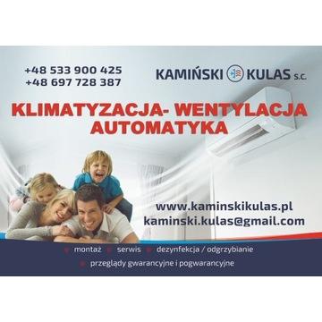 Klimatyzacja Pompa Ciepła Szczecin - montaż, serwi