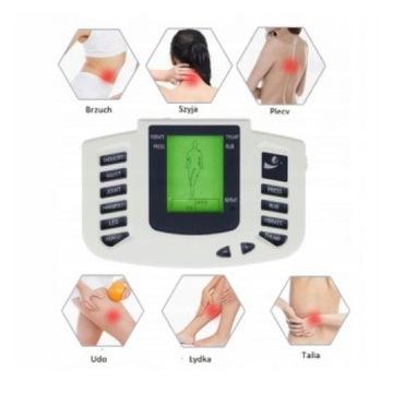 Elektrostymulator mięśni, masażer, baterie, buty