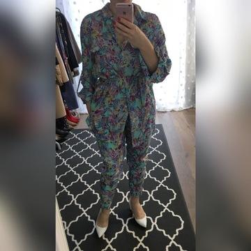 Komplet simple 34 spodnie koszula