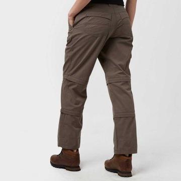 Damskie spodnie trekkingowe 3w1