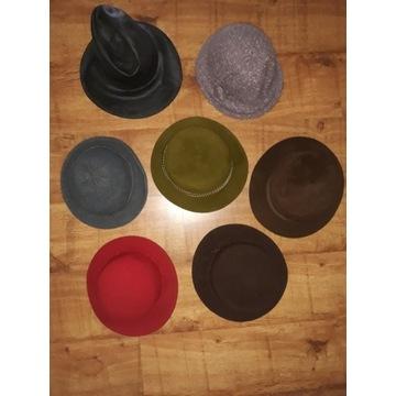 Zestaw kapeluszy