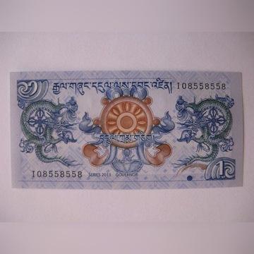 Bhutan - 1 Ngultrum - 2013 - P27 - St.1