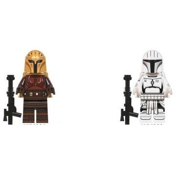 Lego STAR WARS Mandalorian Dwie Figurki