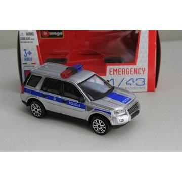 Model Land Rover Freelander 2 Policja Bburago 1:43