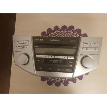 Radio samochodowe Lexus Rx 400 h 2005r