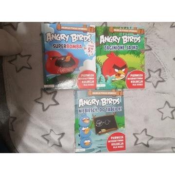 Angry Birds- książeczki dla dzieci romy 1-3