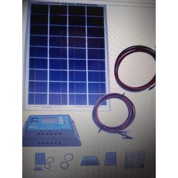 zestaw solarny 12 V 110 W