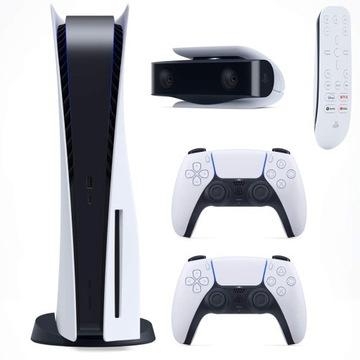 Sony PlayStation 5 BLU-RAY 2xPAD +HD KAMERA +PILOT