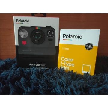 Aparat natych. Polaroid Now +wkłady 16szt!+prezent