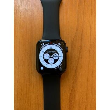 Apple Watch 5 44mm aluminium + 100% sprawny